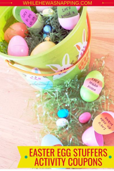 Easter Egg Stuffers Activity Coupons