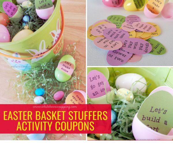Easter Egg Stuffers for Easter Baskets