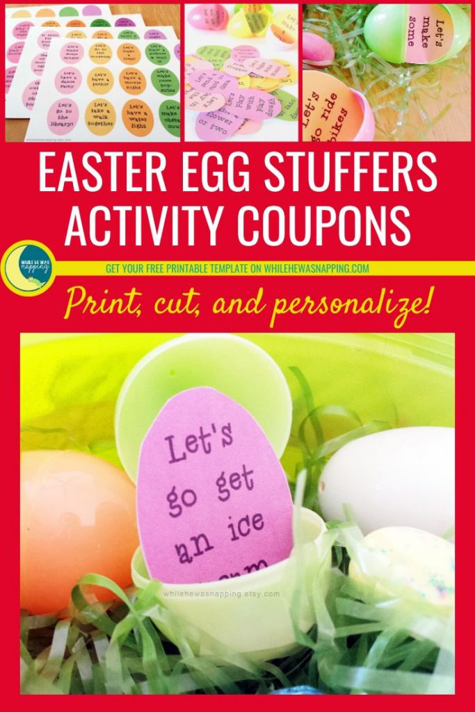 Kids Easter Egg Stuffers Activity Coupons