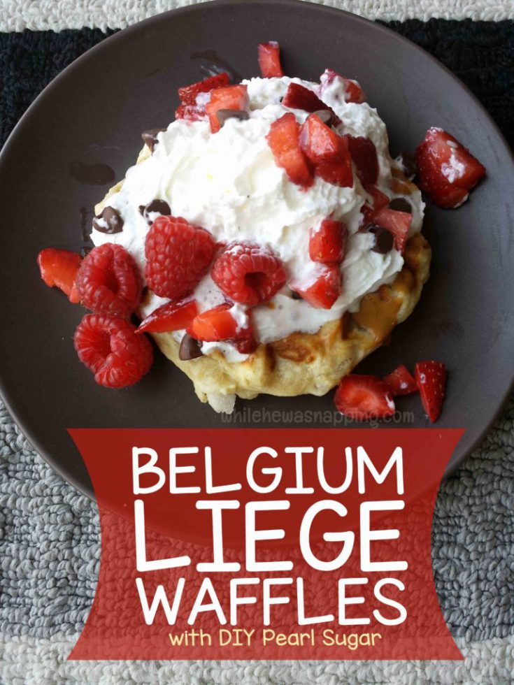 Leige Waffles: The Most Amazing Waffles on Earth