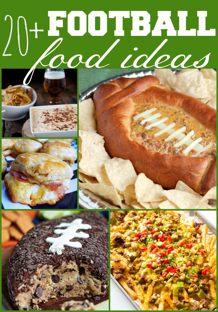football-food-ideas