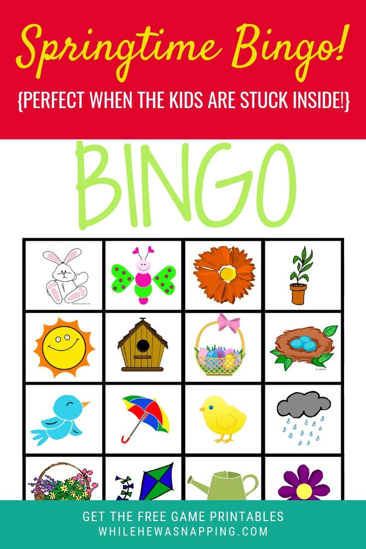 Get Your Springtime Bingo Printables