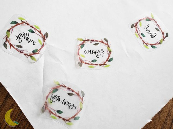 DIY Laser Printer Labels