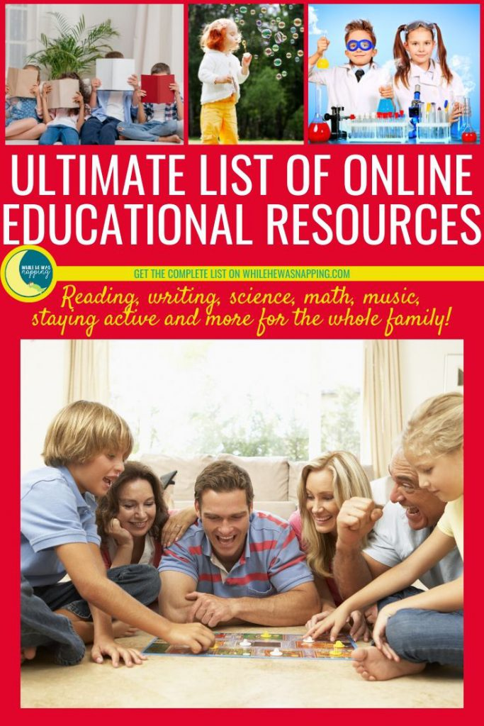 Ultimate List of Online Educational Resources