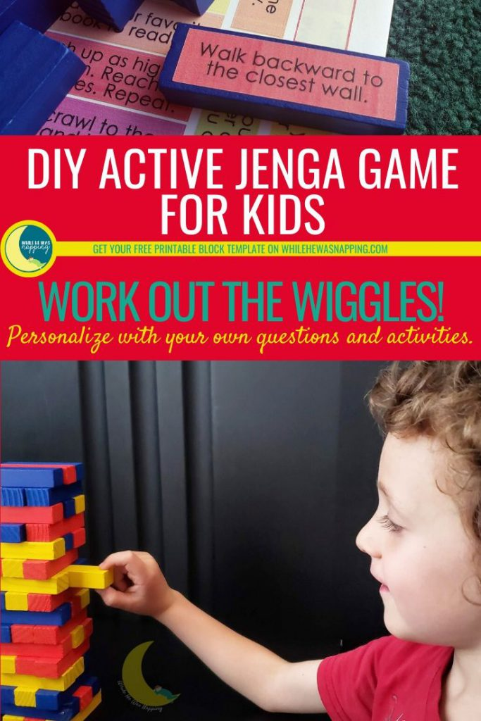 Active Jenga Game for Kids