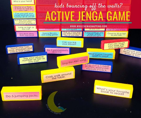 Active Jenga for Kids